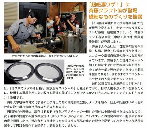 斉藤クラフト円盤記事160%